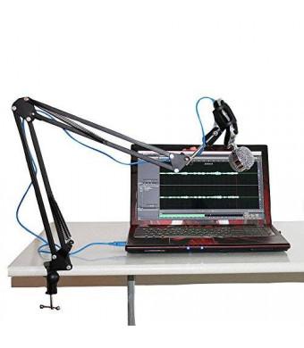 Tonor Microphone Suspension Boom Scissor Arm Stand