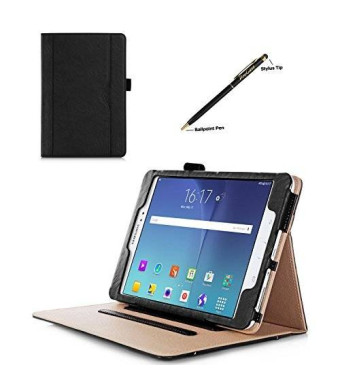 ProCase Samsung Galaxy Tab A 8.0 Case - Standing Cover Folio Case for 2015 Galaxy Tab A Tablet (8.0 inch