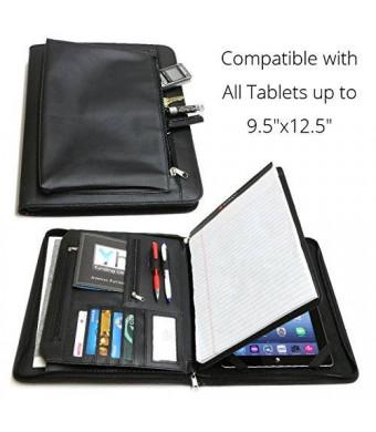uuber Universal Business Leather Portfolio for iPad Pro