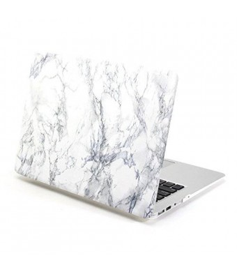 MacBook Air 11 Case, GMYLE Hard Case Print Frosted for MacBook Air 11 inch- Marble Pattern Rubber Coated Hard Shell Case Cover