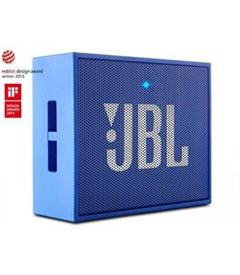 JBL GO Portable Wireless Bluetooth Speaker W/ A Built-In Strap-Hook (BLUE)