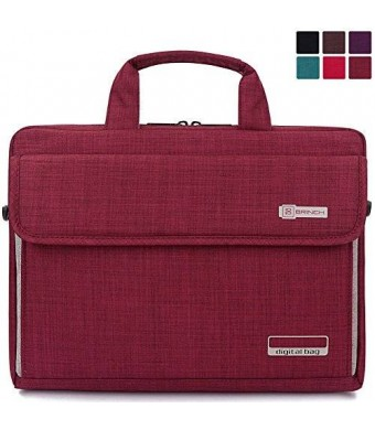 BRINCH New Style Oxford Fabric Unisex Universal Luxury Portable Laptop Sleeve Case Carrying Messenger Bag Shoulder Briefcase Handbag For 13