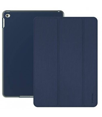 iPad Air 2 Case, Infinie Ultra Slim iPad Air 2 Case Smart Cover [with Scratch-Resistant Lining and Auto Sleep/Wake Feature] - Navy