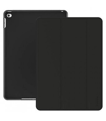 iPad Air 2 Case, Infinie Ultra Slim iPad Air 2 Case Smart Cover [with Scratch-Resistant Lining and Auto Sleep/Wake Feature] - Black
