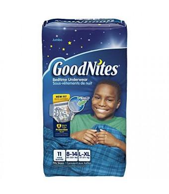 Goodnites Underwear - Boy - Large - 11 ct