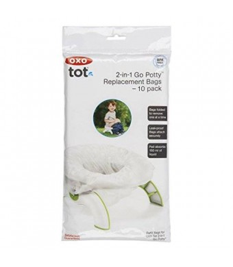 OXO Tot 2-in-1 Go Potty Refill Bags, 10 Count