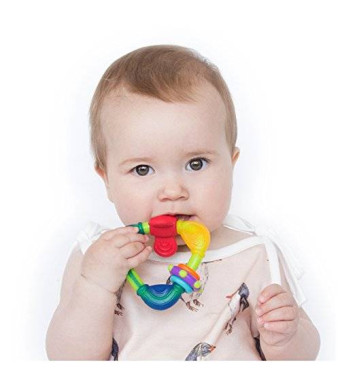 Nuby Spin N' Teether, 3 Months Plus