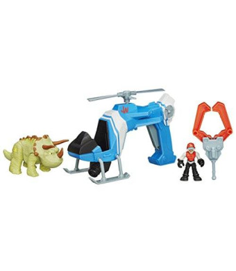 Playskool Heroes Jurassic World Dino Tracker Copter Toy
