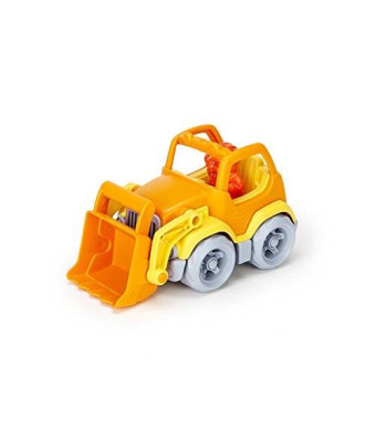 Green Toys Scooper Vehicle, Yellow/Orange
