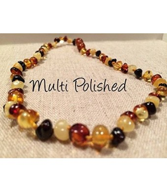 Baltic Essentials Baltic Amber Teething Necklace for Babies
