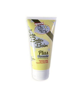 The Original CJ's BUTTer All Natural Shea Butter Balm - PLUS Formula, 6 oz. Tube