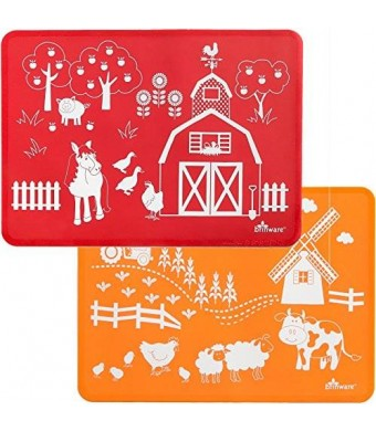 Brinware Placemat Set - Barnyard Friends