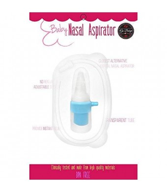 Go Baby Nasal Aspirator- Great baby gifts for every newborn caregiver -Money saving with no extra filter