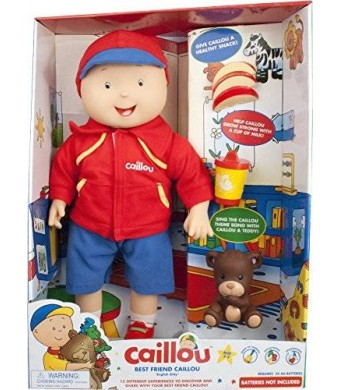 Caillou Best Friend, Electronic Doll