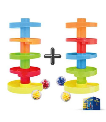 WEofferwhatYOUwant Ball Drop. Educational Family Fun for Baby and Toddler. Stack them higher.