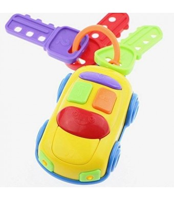 ToyZe My First Car Keys, Car Alarm, with Head Lights and Real Car Sounds, (12m+)