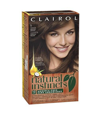 Clairol Natural Instincts 20 Hazelnut Medium Brown 1 Kit (Pack of 3)