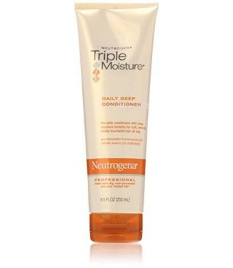 Neutrogena Triple Moisture Daily Deep Conditioner, 8.5 Ounce (Pack of 3)