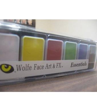 Wolfe Face Art & Fx Wolfe 6 Color Palette/Face Paint Kit (Essentials)