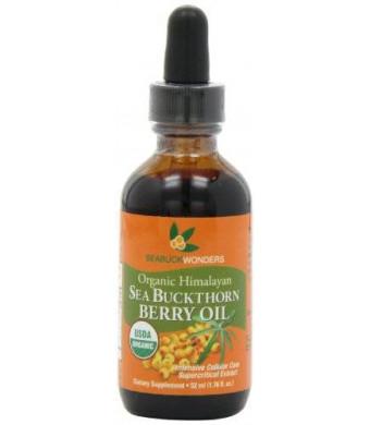 Seabuckwonders Sea Buckthorn Berry Oil - 100% Certified Organic, 1.76-Ounces Bottle