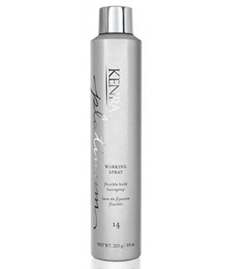 Kenra Platinum 80% Working Spray, 10 Ounce