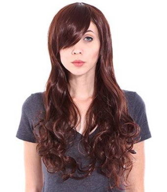 Simplicity Premium Quality Full Long Curly Cosplay/Party Wigs