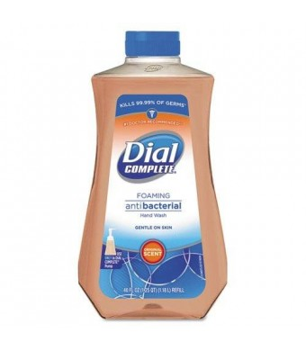 Dial Original Antibacterial Foaming Hand Soap Refill, 40 oz, 1 each