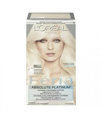 L'Oreal Paris L'Oreal Feria Absolute Platinums Hair Color, Extreme Platinum