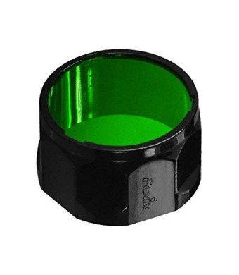 Fenix Flashlights Fenix PD35, PD12, UC40 Ultimate Edition Flashlights Filter Adapter, Green AOF-S-GREEN