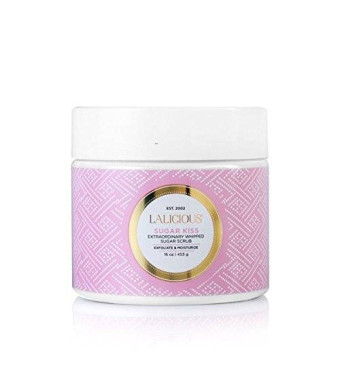 LaLicious Sugar Kiss 453g/16oz Extraordinary Whipped Sugar Scrub
