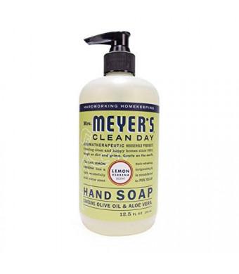 Mrs. Meyer's Clean Day Mrs. Meyer's Hand Soap Lemon Verbena, 12.5 Fluid Ounce (Pack of 3)