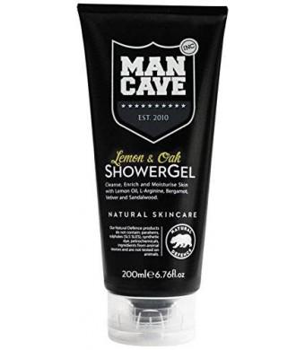 ManCave Lemon and Oak Shower Gel, 6.7 oz