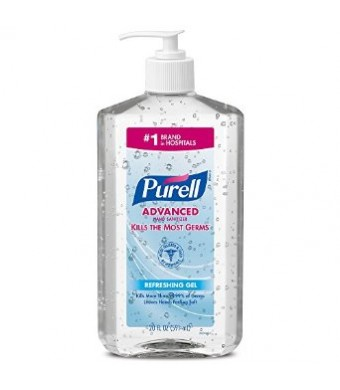 Purell 3023-12-EC Advanced Hand Sanitizer, 20 oz. Bottles (Pack of 2)