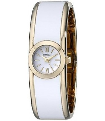 Caravelle New York Women's 44L144 Two-Tone Bangle Watch