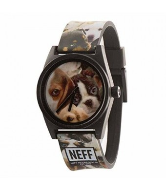 Neff Unisex NF0208PUPP Daily Wild Analog Display Japanese Quartz Multi-Color Watch