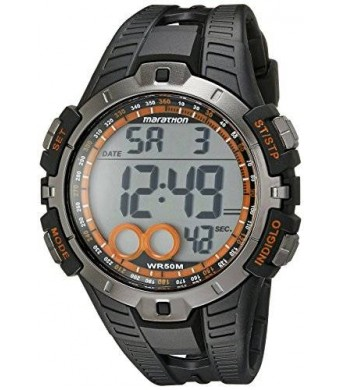 Timex Men's T5K801M6 Marathon Digital Display Quartz Black Watch