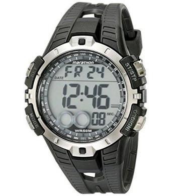 Timex Men's T5K802M6 Marathon Digital Display Quartz Black Watch