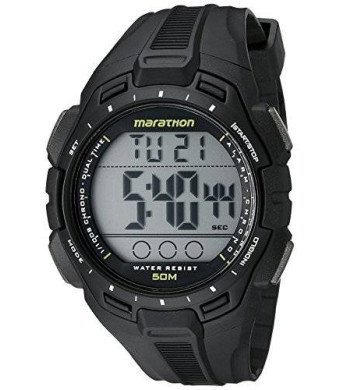 Timex Men's TW5K94800M6 Marathon Digital Display Quartz Black Watch