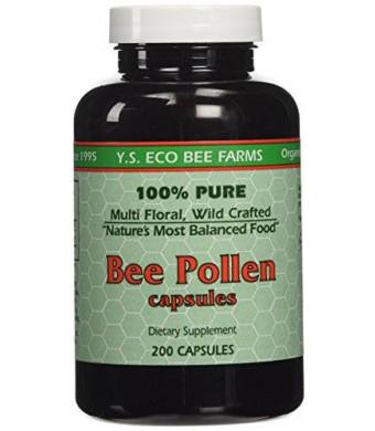 Y.S. Organic Bee Farms Y.S. Organic Bee Pollen -- 200 Capsules