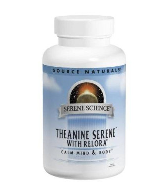Source Naturals Theanine Serene with Relora, 120 Tablets