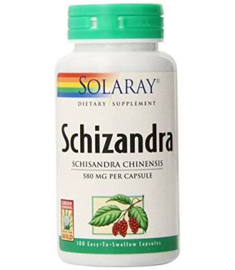 Solaray Schizandra Berries, 580 mg, 100 Count