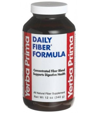 Yerba Prima Botanicals - Daily Fiber Formula, 12 oz powder