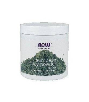 Now Foods European Clay Powder, 6-Ounce