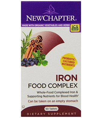 New Chapter Iron Food Complex, 60 Tablets