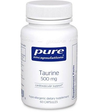 Pure Encapsulations - Taurine 500 mg. 60's