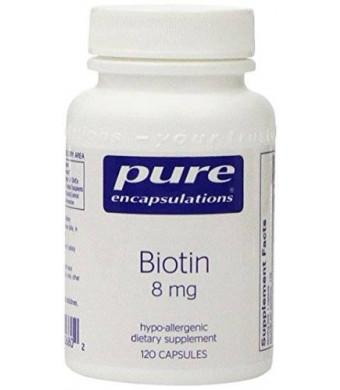 Pure Encapsulations - Biotin (8mg) - 120ct