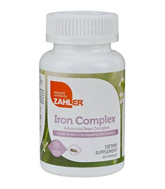 Advanced Nutrition Zahler Zahlers Iron Complex