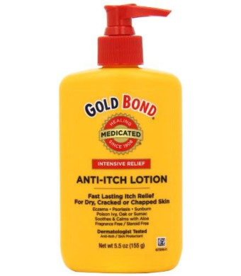 Gold Bond Anti Itch Lotion 5.5oz, Bottles (Pack of 2)