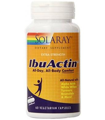 Solaray Ibuactin Capsules, 60 Count