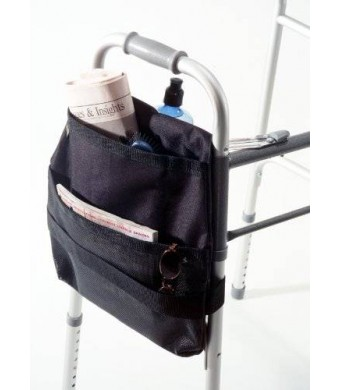 Drive Medical Deluxe Side Walker Carry Pouch, Black